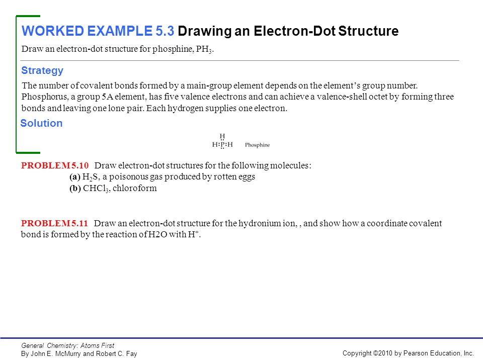 electron dot diagram for ph3 mott flail mower parts worked example 5 1 drawing a structural formula ppt video online 3 an structure