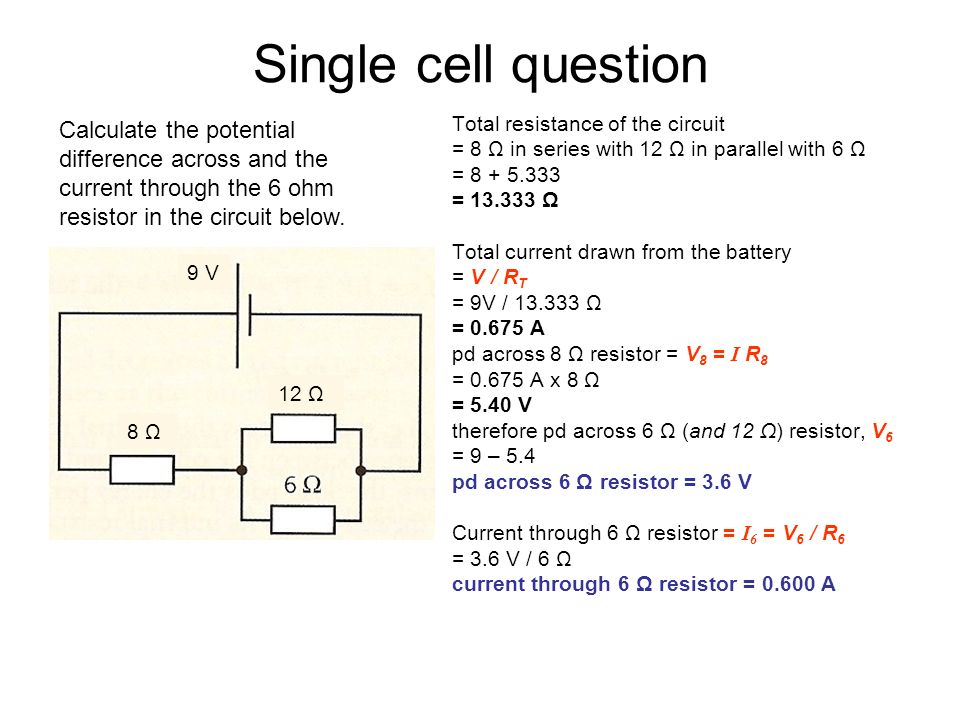 If A 2 Ohm Resistor Develops 2 V How Much Power Does It Dissipate