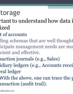 Data storage important to understand how is organized also overview of transaction processing and enterprise resource planning rh slideplayer