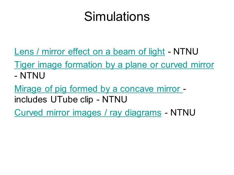 mirror ray diagram simulation what is a network and why it important complete physics pages for igcse 139 to ppt video online download 24 simulations lens