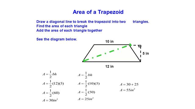 Finding the area of a Trapezoid - ppt video online download
