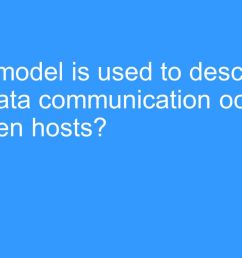 osi reference model what model is used to describe how data communication occurs between hosts [ 1280 x 720 Pixel ]