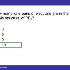 Lewis Dot Diagram For Pf3 Lincoln Sa 200 Welder Wiring Chapter Four 4 Lecture Ppt Download 53 How Many Lone Pairs Of Electrons Are In The Structure