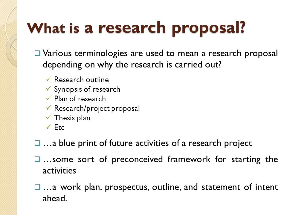 Drafting Research Proposal Ppt Video Online Download