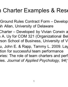 Team charter examples  research also ppt video online download rh slideplayer
