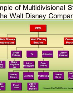 An example of multiisional structure the walt disney company also organizational culture corporate shared values beliefs rh slideplayer