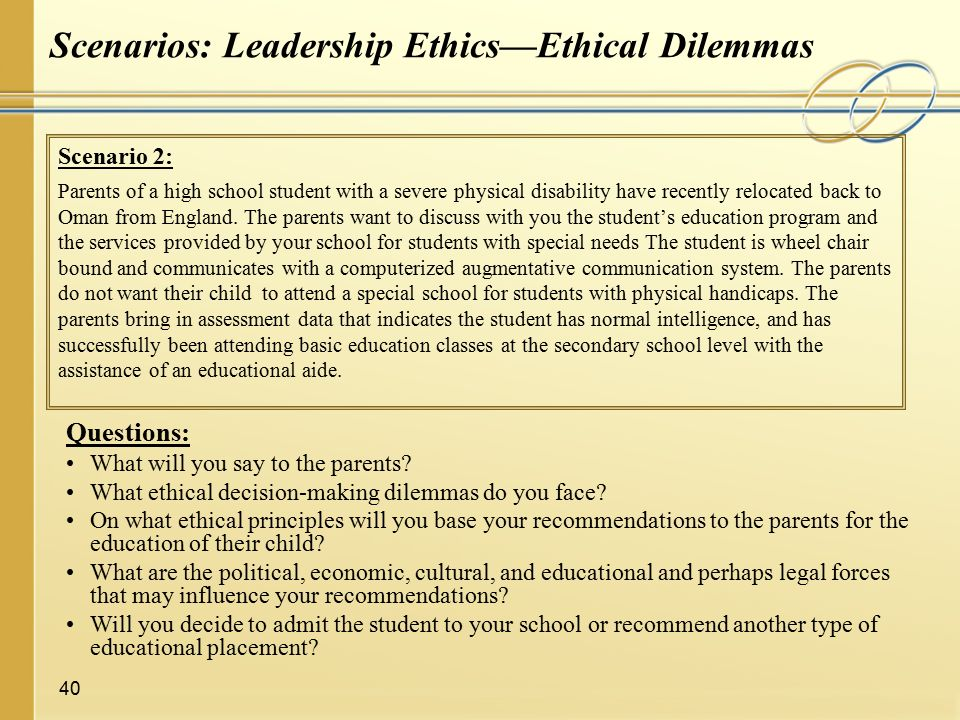 Ethical Leadership In Education A Global Perspective