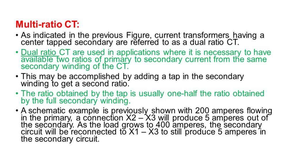 medium resolution of instrument transformers ppt video online download multi ratio current transformer wiring diagram