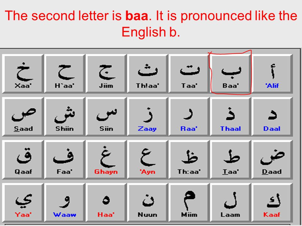 The Arabic Alphabet By Bryce Casper  ppt video online download