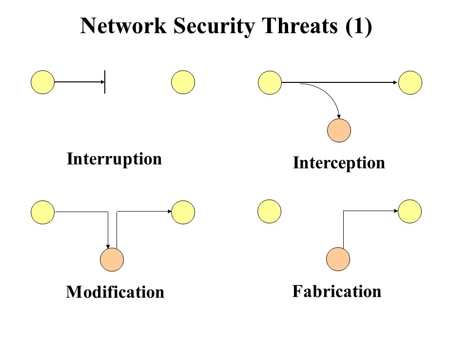 Interception in network security. HTTPS interception