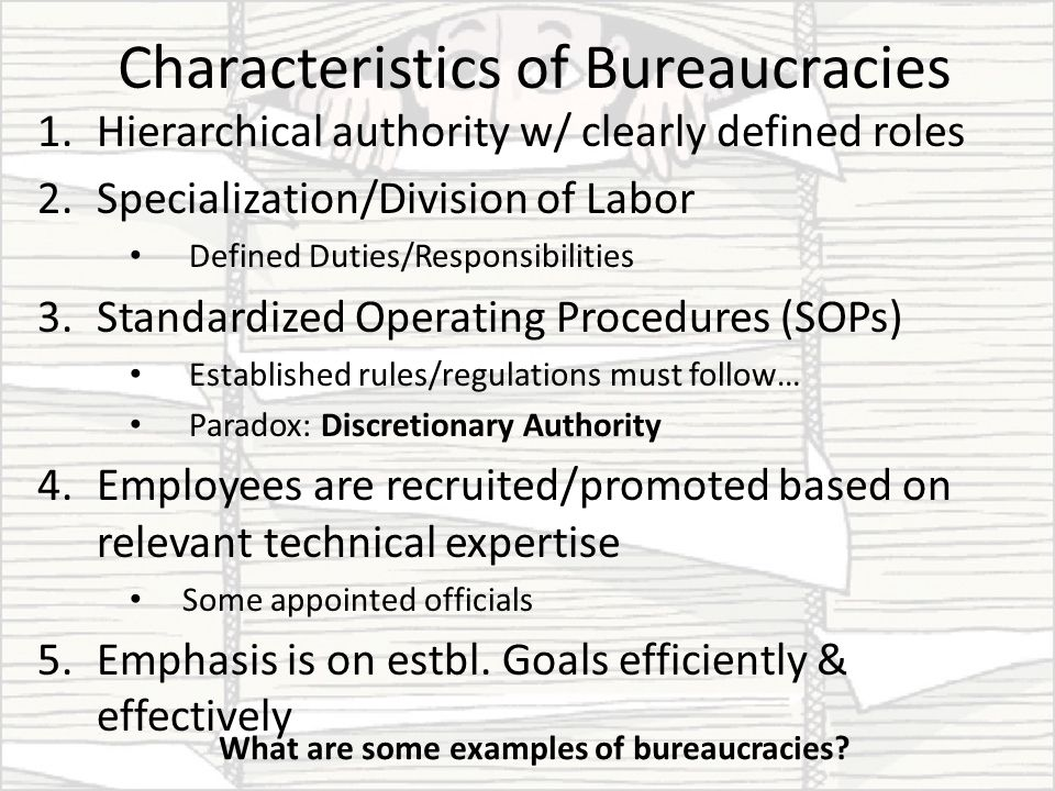 Objectives What are the characteristics and functions of a