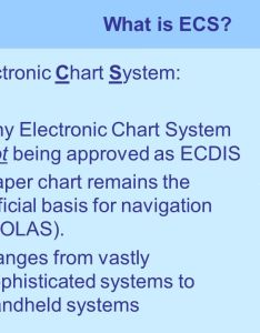 What is ecs electronic chart system any not being approved as ecdis also northern european panel  hamburg ppt video online download rh slideplayer