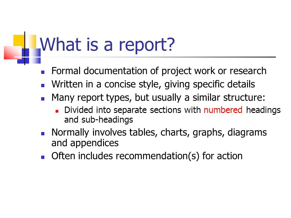 Final Project Report Writing – Structure and Content - ppt video ...