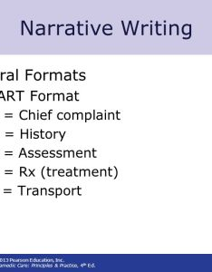 Narrative writing general formats chart format    chief complaint also documentation ppt video online download rh slideplayer