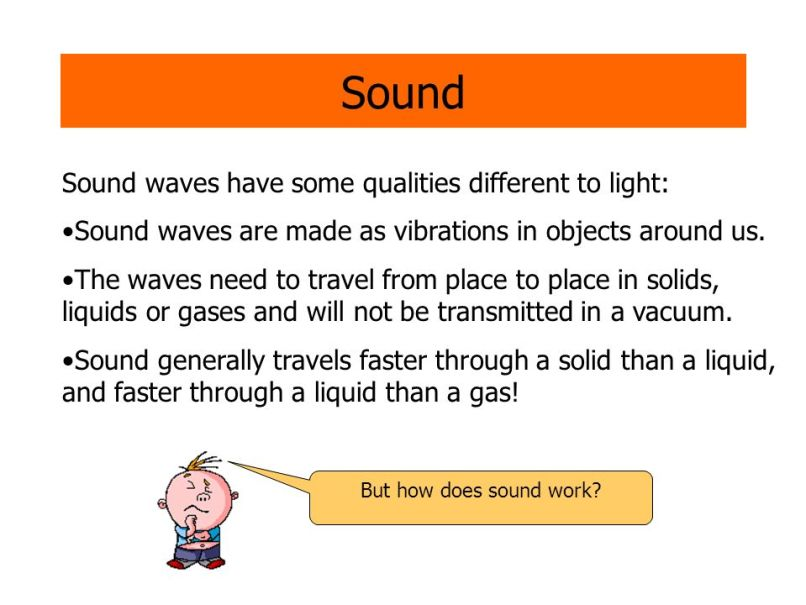 why are sound waves unable to travel through a vacuum anexa creancy