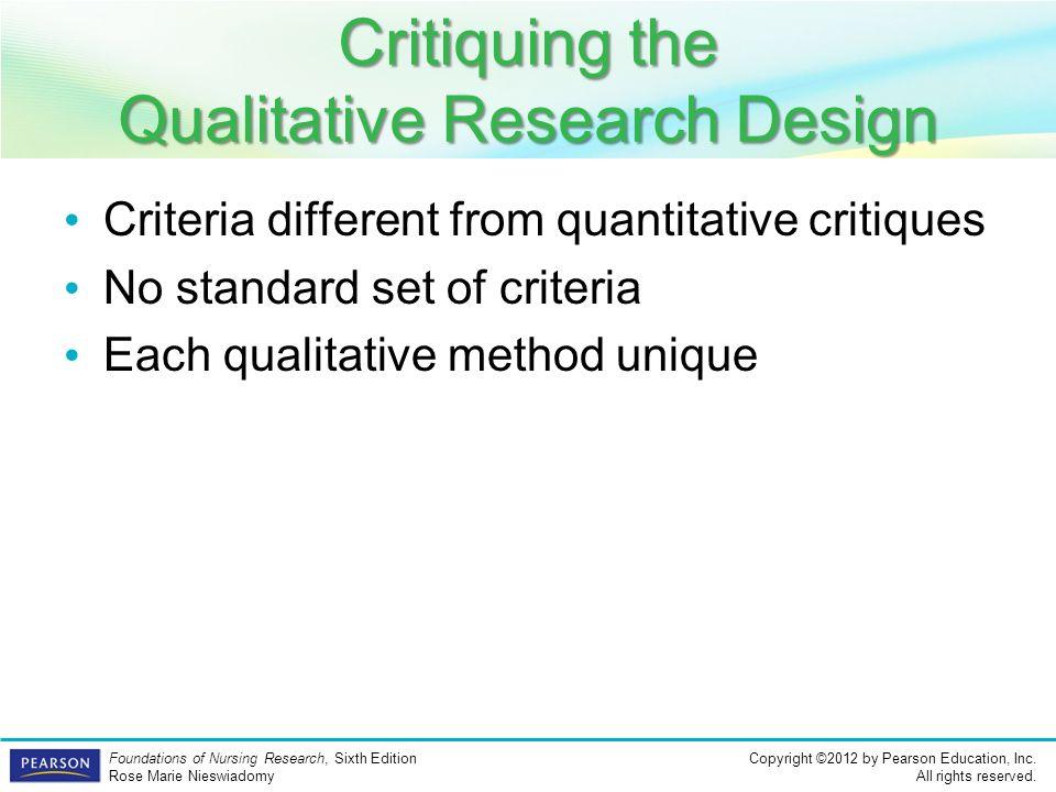 Nursing Research Article Critique Paper Research Paper Academic