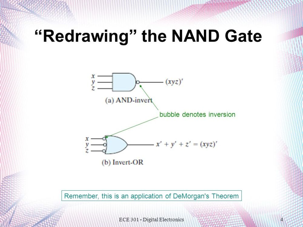 medium resolution of redrawing the nand gate