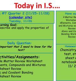 Today in I.S.… Week #7 Quarter 2 (11/25-11/28) (calendar site) - ppt video  online download [ 1024 x 1365 Pixel ]
