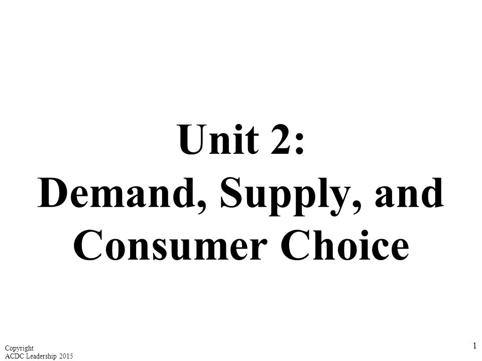 Reasons For Changes In Demand Worksheet Answers Lesson 2