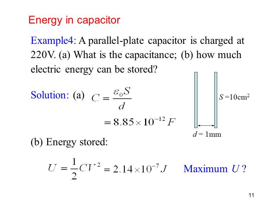 Capacitance Dielectrics Electric Energy Storage Ppt