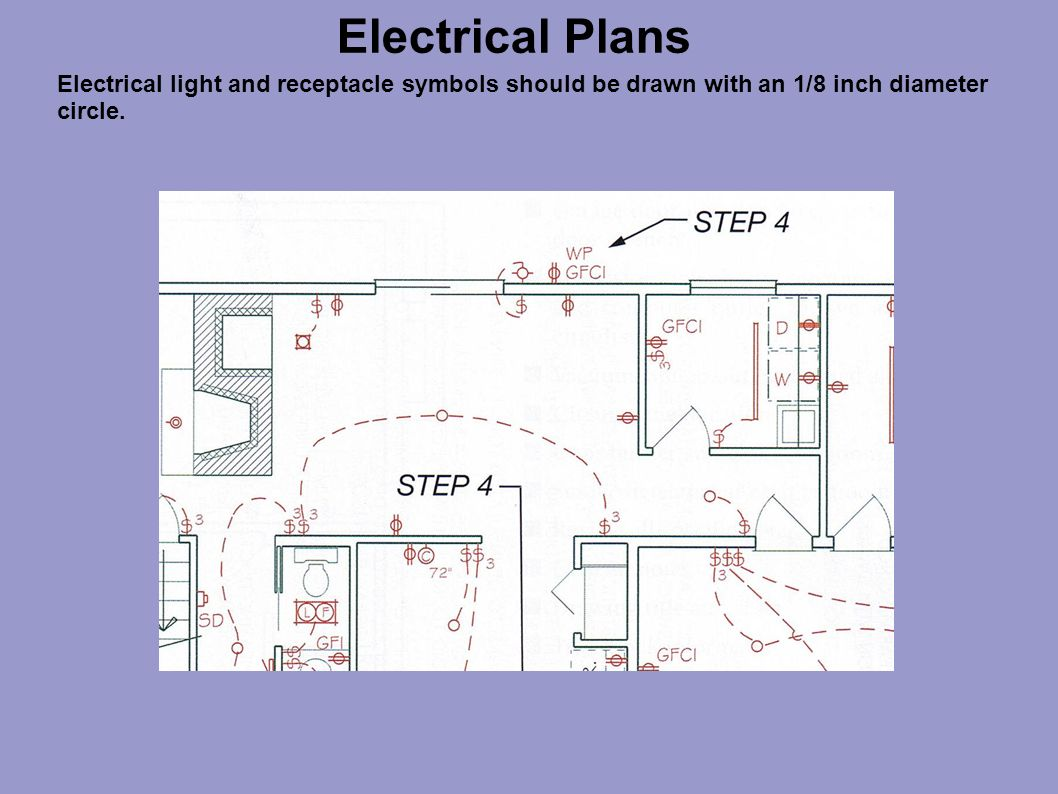 hight resolution of 17 electrical plans electrical light and receptacle symbols should be drawn with an 1 8 inch diameter circle