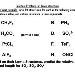 Electron Dot Diagram For Ph3 3way Wiring 1 Chemical Bond Ionic 4 Types Of Bonds Covalent Practice Problems On Lewis Structure