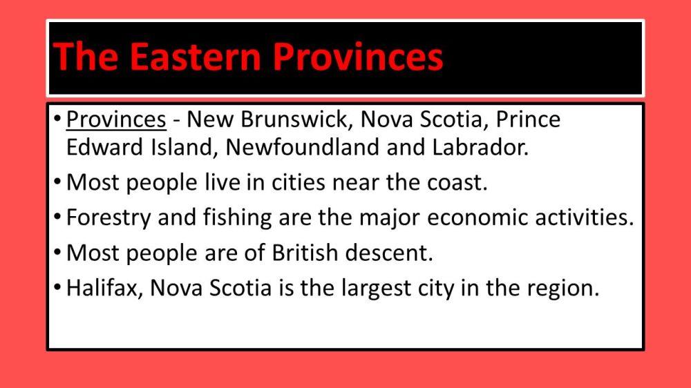 medium resolution of Regions of Canada. - ppt video online download