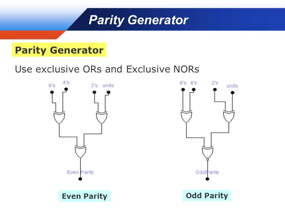 9 bit parity generator logic diagram | i-confort.com 8 bit magnitude comparator logic diagram
