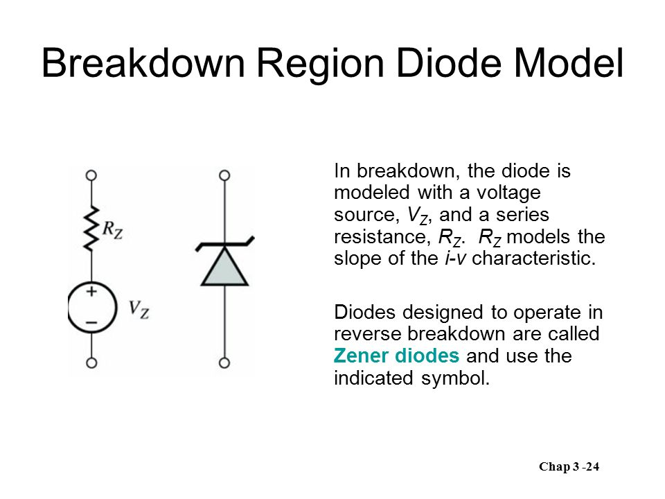 Schottky Barrier Diode One semiconductor region of the pn junction diode can be replaced by a