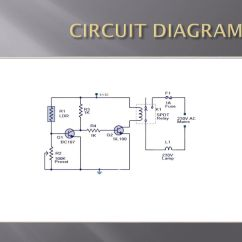 Simple Relay Circuit Diagram S Plan Wiring Automatic Street Light Control Using Ldr - Ppt Video Online Download