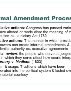 Informal amendment process also   us government  politics ppt download rh slideplayer