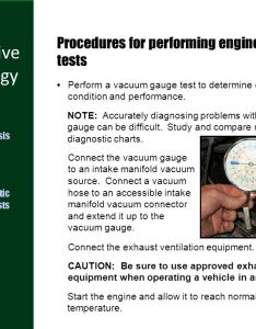Procedures for performing engine vacuum tests also diagnostic ppt video online download rh slideplayer