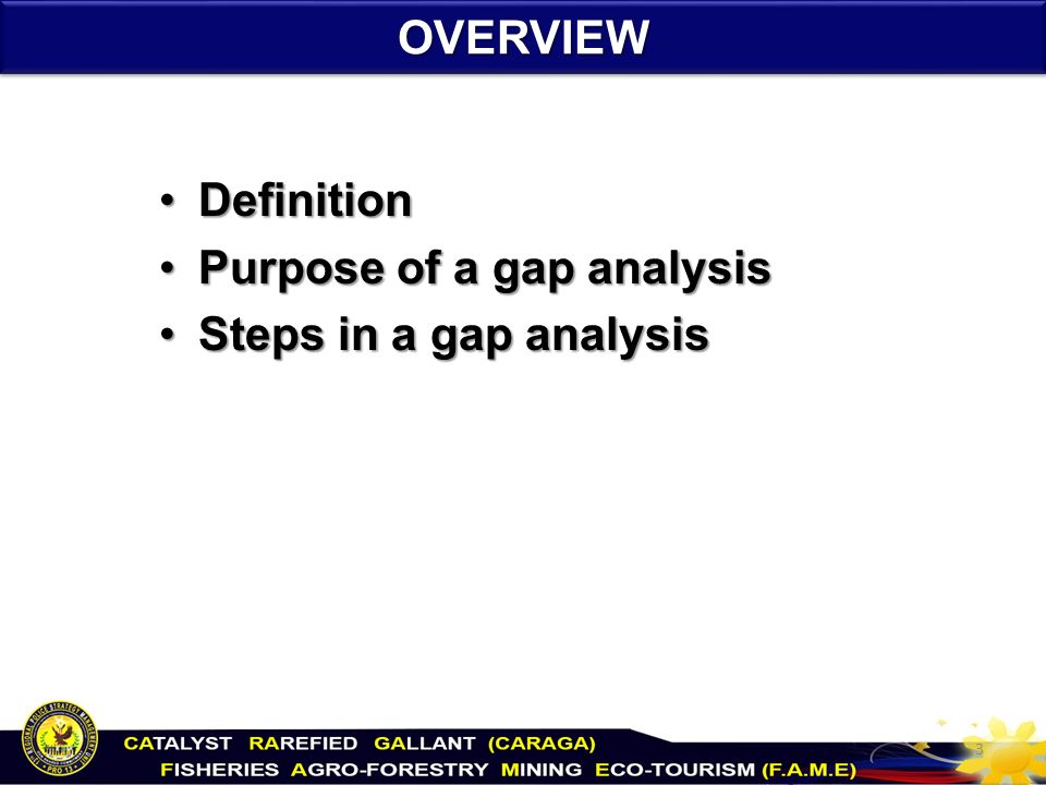 GAP Analysis. - ppt video online download