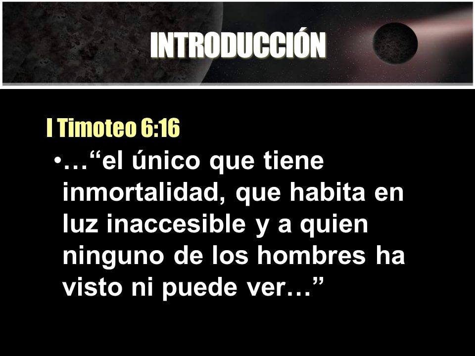 Resultado de imagen para 1 Timoteo 6:16