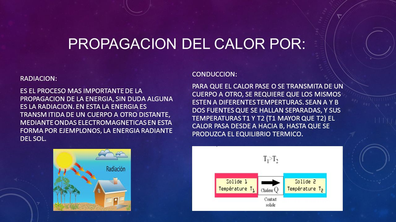 PROPAGACION DEL CALOR  ppt video online descargar