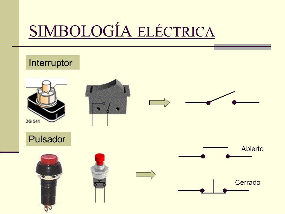 Resultado de imagen para interruptor y su simbolo