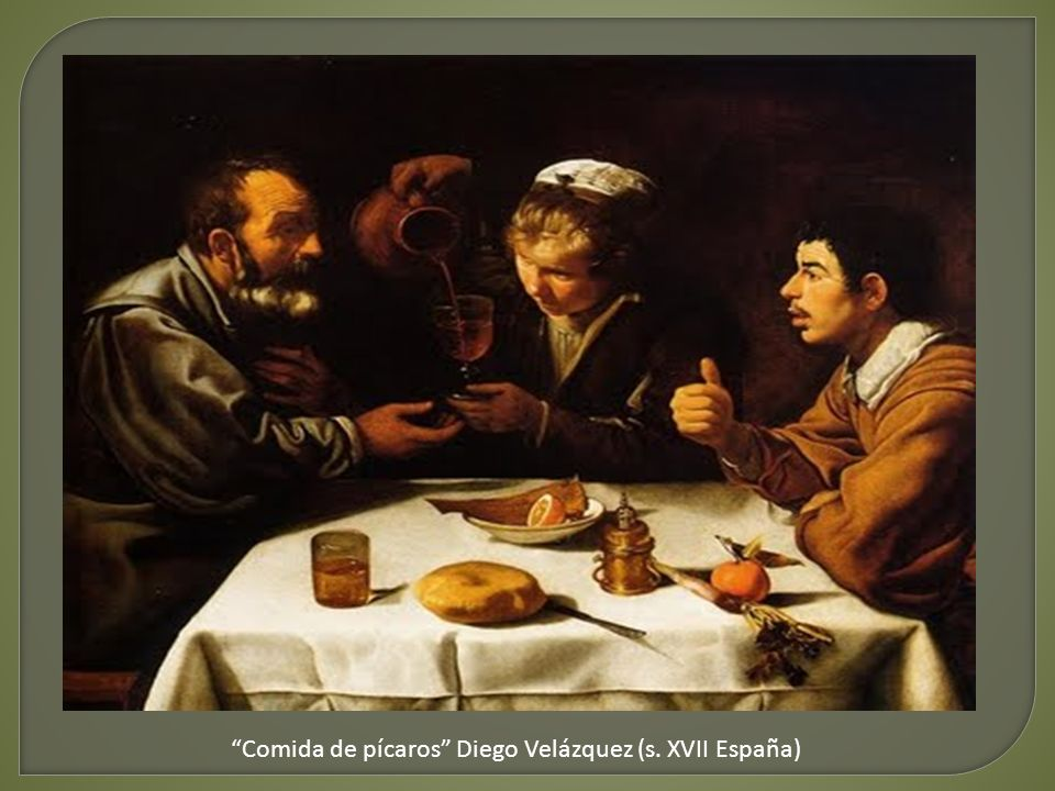 Risultati immagini per Comida de pícaros, de Diego de Velázquez