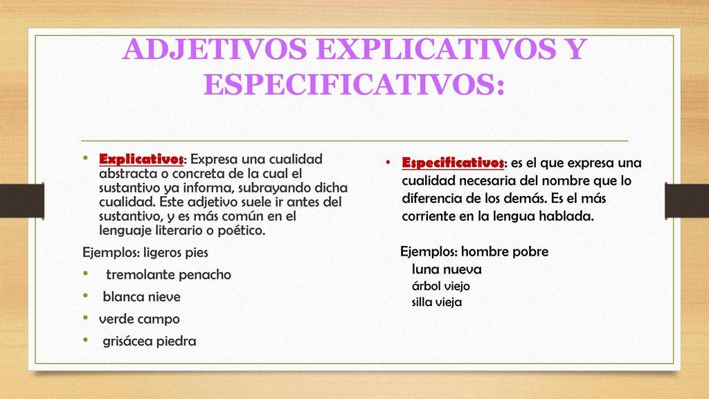 LOS ADJETIVOS COLABORADORES DEL GRUPO Paola Quishpe David