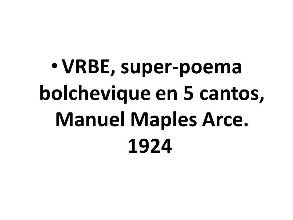 La fundación En México Manuel Maples Arce que funda el