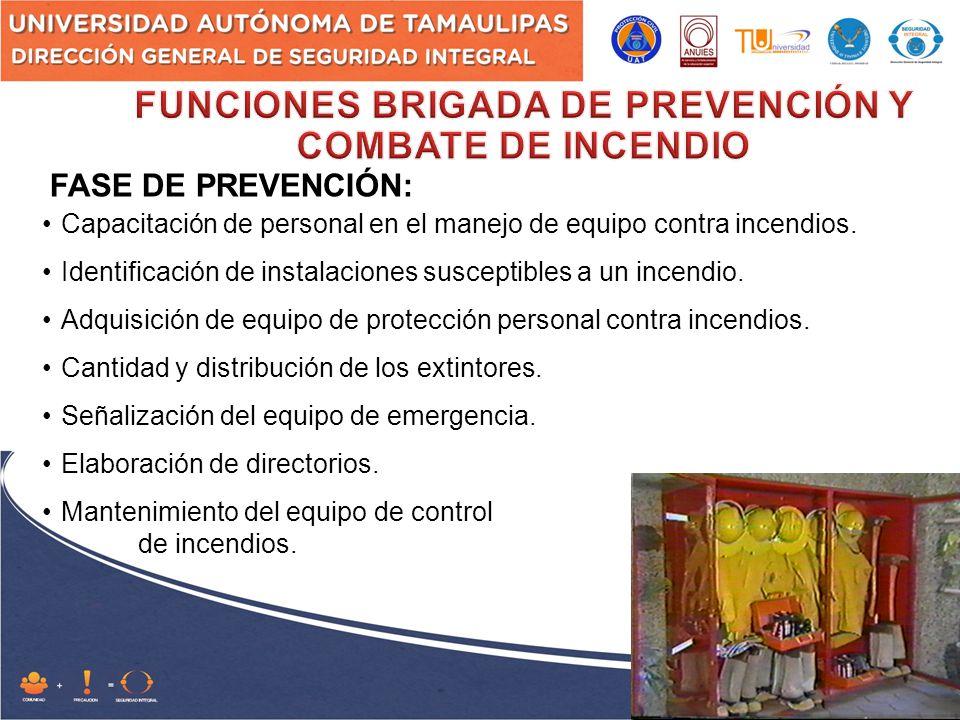 FORMACION DE BRIGADAS INTERNAS DE PROTECCION CIVIL UAT