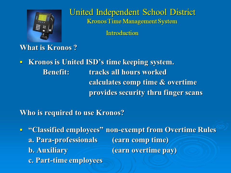 Kronos Security System