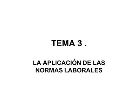 «INTRODUCCIÓN AL DERECHO PROCESAL» TEMA 5 LÍMITES DE LA