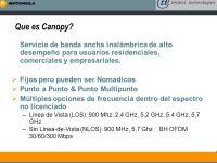 SOLUCION DE BANDA ANCHA INALAMBRICA- CANOPY - ppt descargar