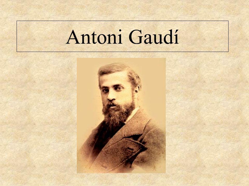 Antoni Gaud  ppt descargar