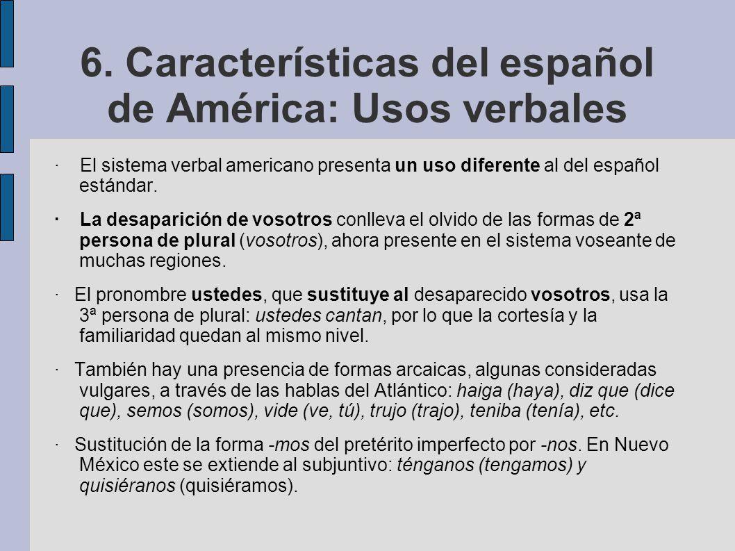 Tema 3 Geografia Linguistica Del Espanol 2 El Espanol De America