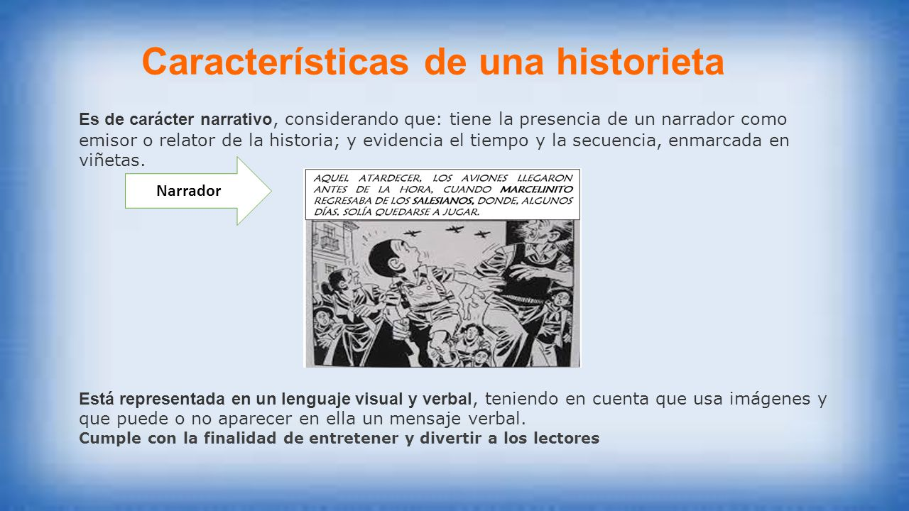 LA HISTORIETA  ppt video online descargar