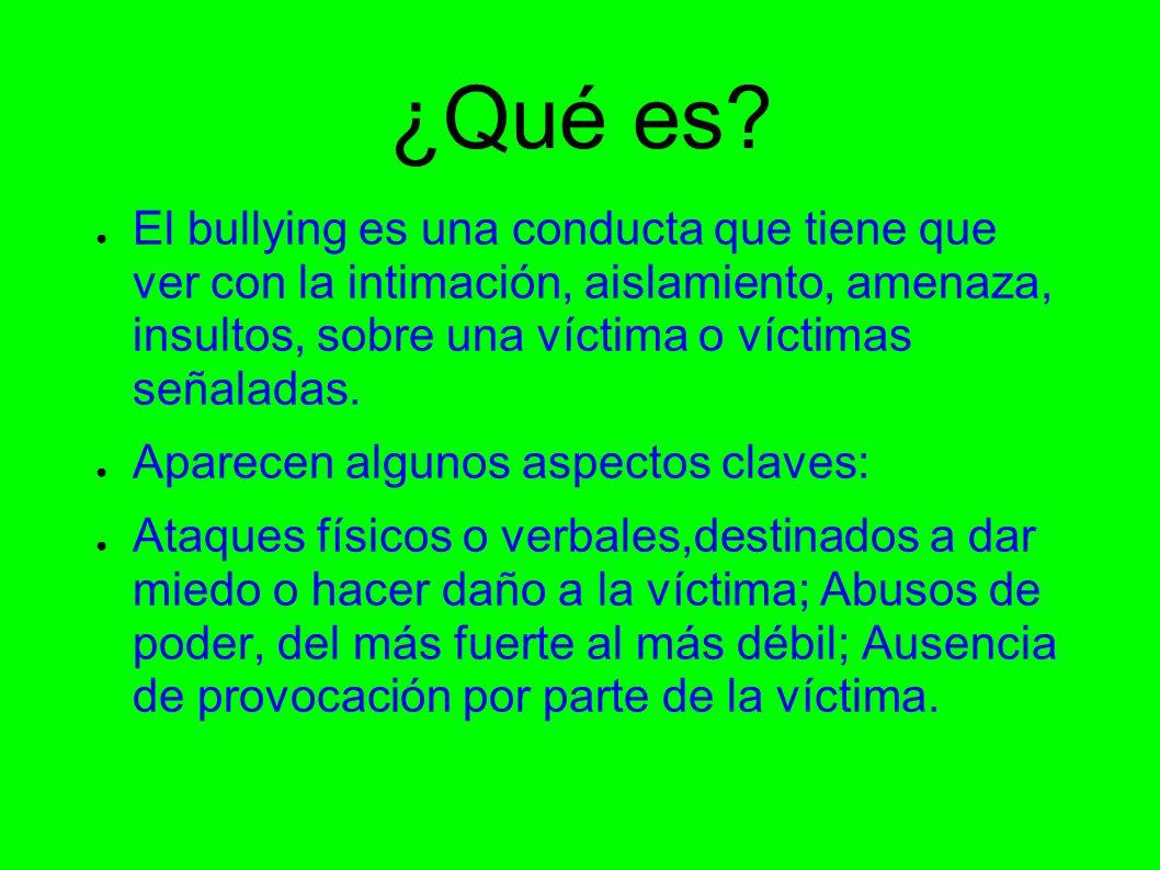 Bullying Acoso Escolar