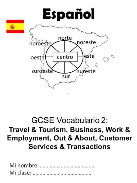 Español Year 8 Language Guide © Rha Nombre