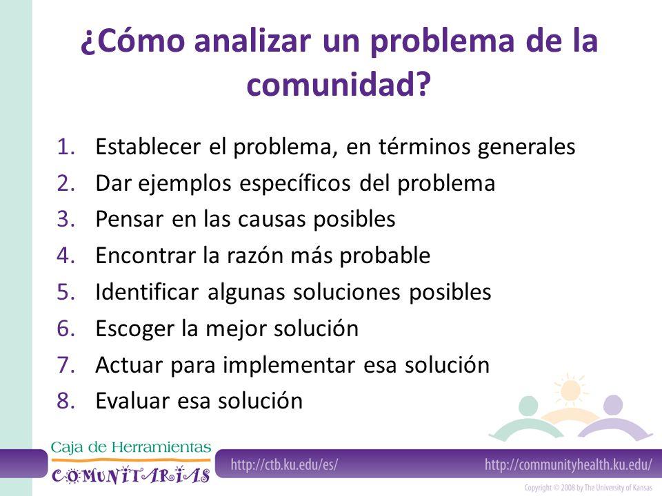 Analizar Problemas Comunitarios Ppt Video Online Descargar