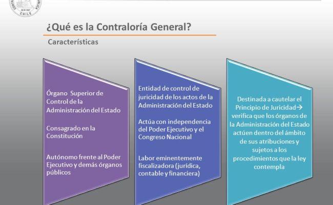 Contraloría General De La República Propósito Funciones Y